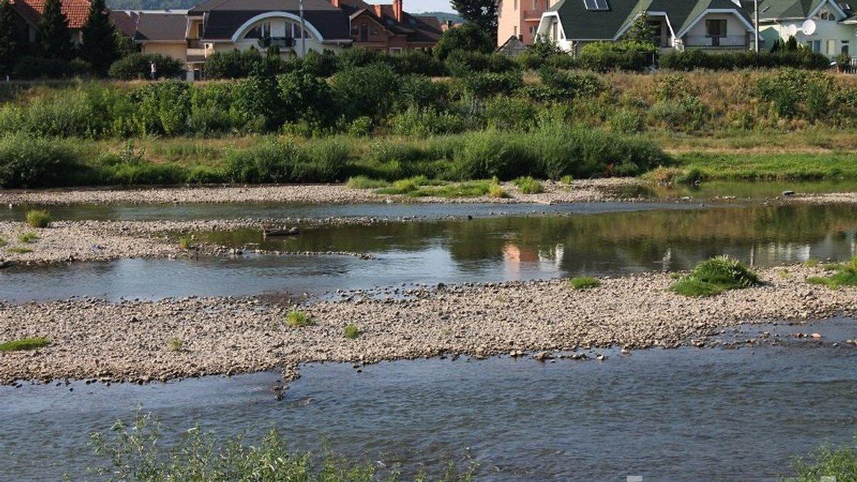Обміління річок на Прикарпатті: які причини та як врятувати водойми