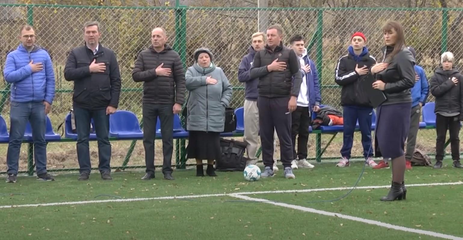 У Коломийській ТГ відновили футбольний майданчик зі штучним покриттям. Відео