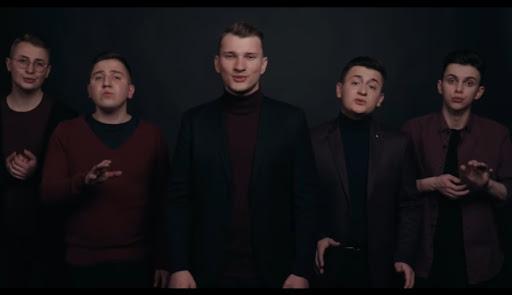 """Франківський вокальний квінтет """"ADORO"""" дав перший сольний концерт. Відео"""
